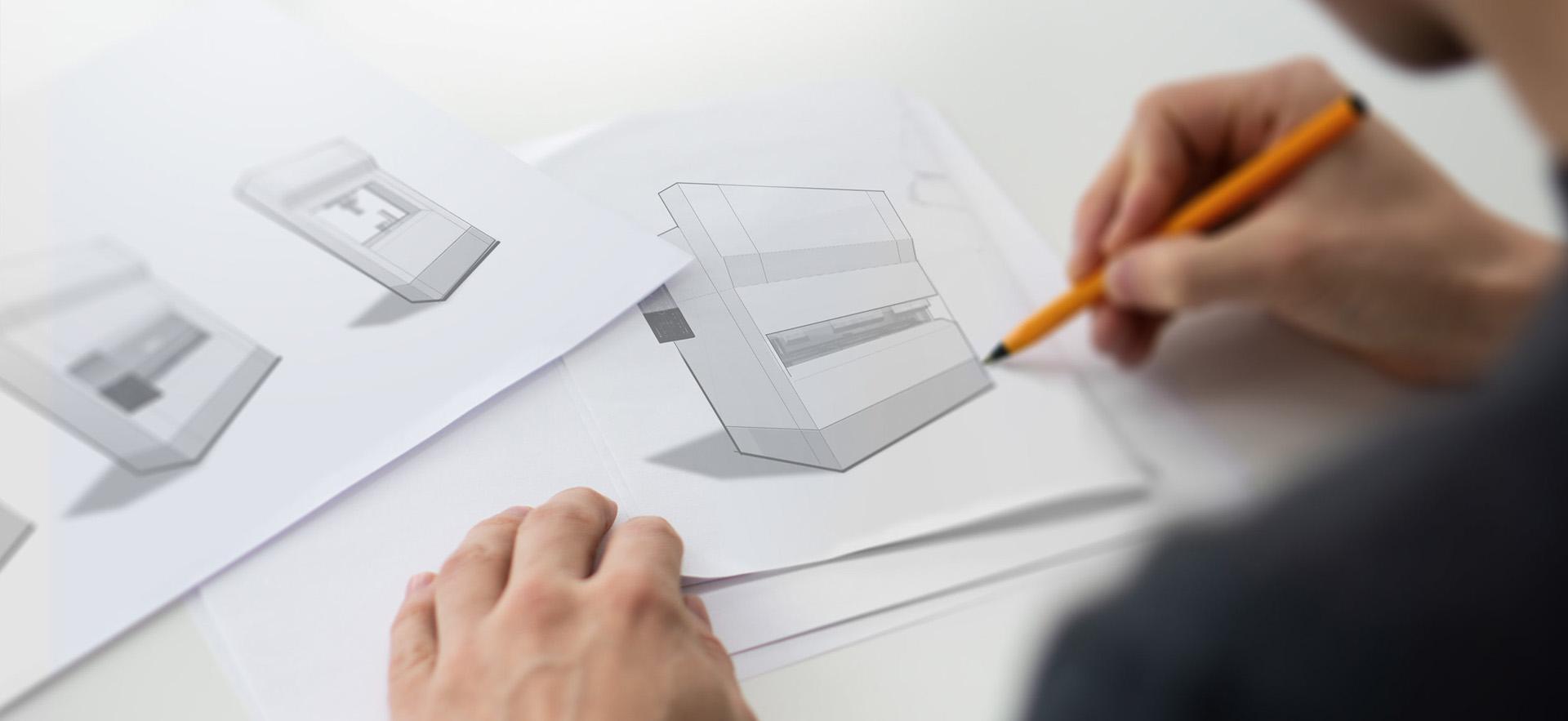Industriedesign von Investitionsgütern